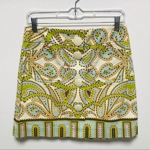 J. Crew Trastevere Button Front Skirt 4